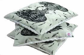 Pillow Agenoria Black Wrap
