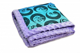 Blanket Luna Gatta Hei Lila Second Quality