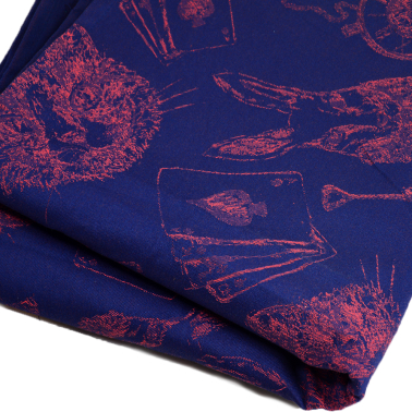 Alice in Wonderland Red Sky Wrap