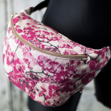 Pink Orchidea Belt Bag